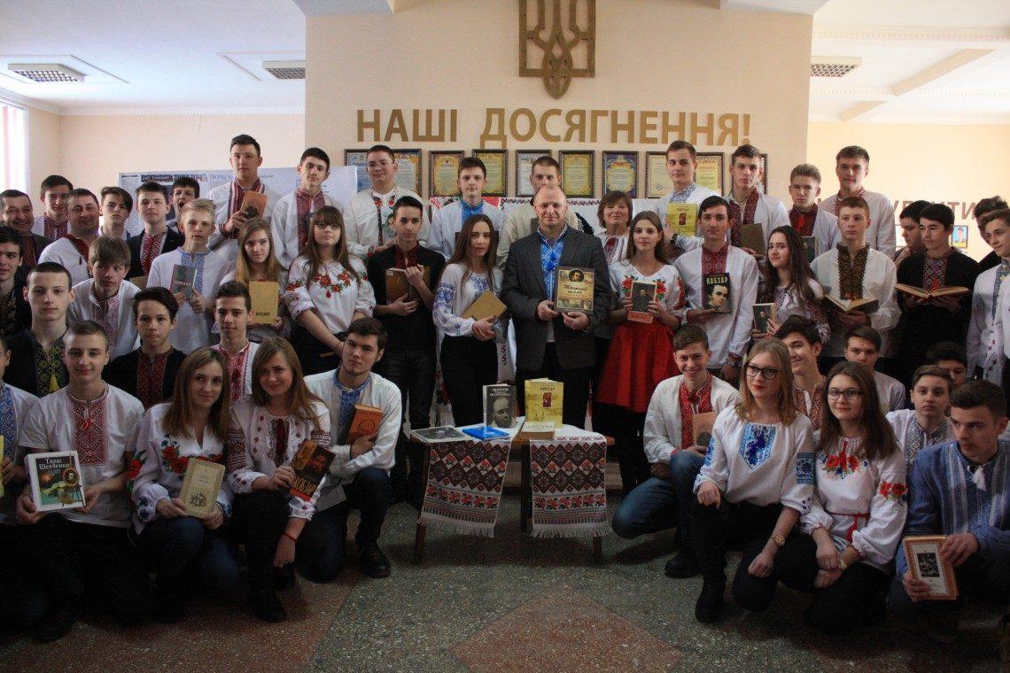 2.4  Флешмоб Тарасів Кобзар