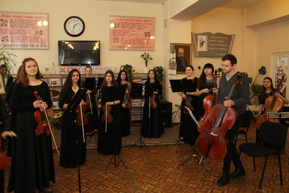 6 Вітання з першим весняним святом від колективу музичного коледжу ім. В. Заремби